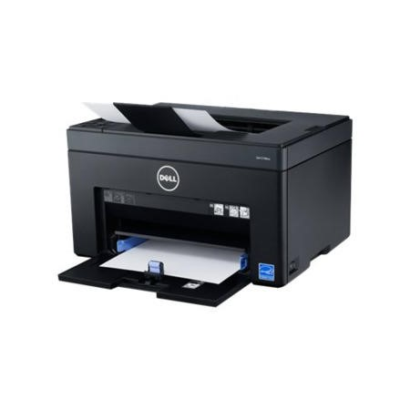 Dell C1760nw A4 Colour Printer Wireless Network 1200 x 1200 dpi Resolution 384MHz Processor 12 ppm Colour 1 Years Warranty Printer