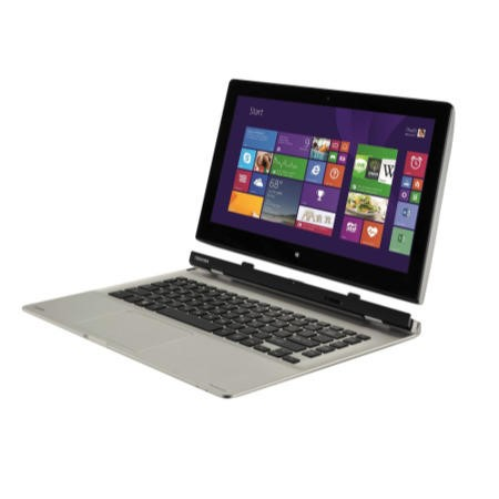 Refurbished Grade A1 Toshiba Satellite Click 2 L30W-B-10D Pentium N3530 Quad Core 4GB 500GB 13.3 inch Touchscreen Convertible Ultrabook Laptop