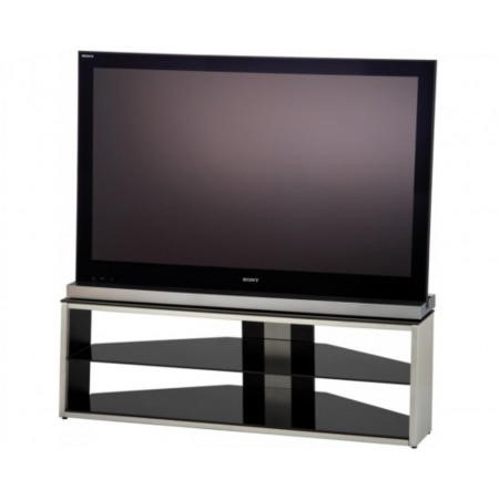 Refurbished Ex Display - As new but box opened - Alphason TSI1280/3-B Tensai TV stand - Up to 55 inch