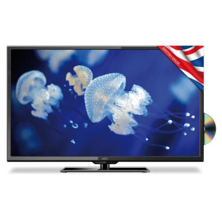 GRADE A2 - Light cosmetic damage - Cello C40227FT2 40 Inch Freeview LED TV with built-in DVD Player
