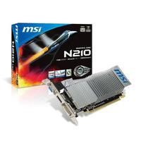 MSI NVidia Ge-Force GT210 589MHz 1GB 64bits DDR3 Graphics Card