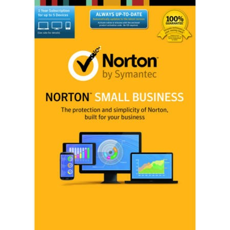 Norton Small Business 1 user 5 device Electronic Software Download