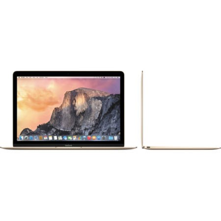 "New APPLE MacBook Core M 8GB 512GB SSD 12"" Retina IPS OSX Yosemite  Laptop - Gold"