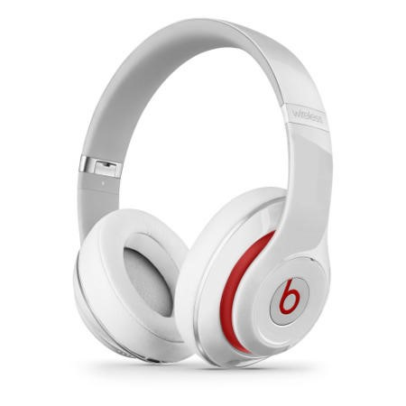 a1/MH8J2B/A Refurbished Beats Studio 2.0 Wireless Over-Ear Headphones - White
