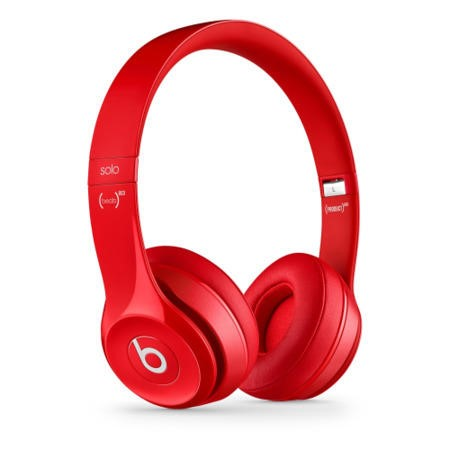 Beats Solo2 On-Ear Headphones - Red