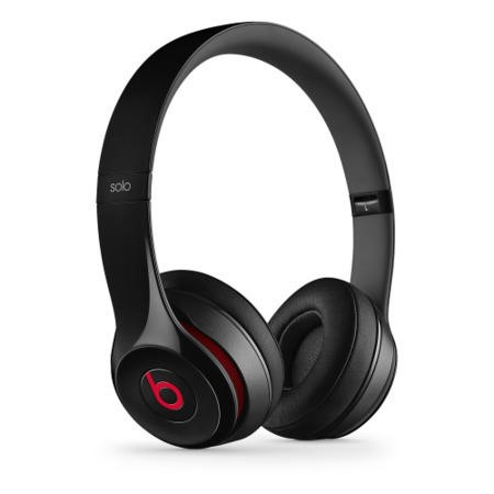 Beats Solo 2 Wired On-Ear Headphones - Black