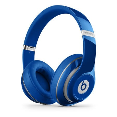 Refurbished Beats Studio 2.0 Wireless Over-Ear Headphones - Blue
