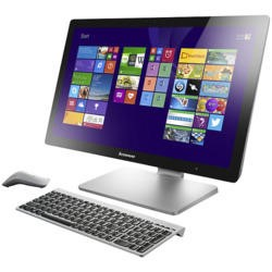 "Refurbished Lenovo A540 Core i5-4258U 2.4GHz 8GB 1TB + 8GB SSHD Win8 23.8"" Touchscreen All in One"