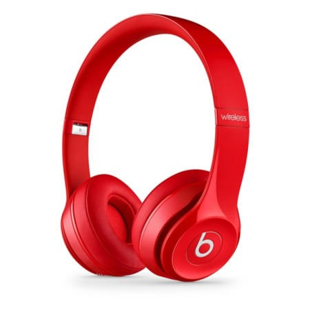 Beats Solo2 Wireless Headphones - Red
