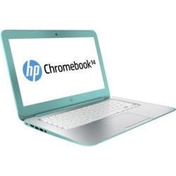 "Refurbished Grade A1 HP 14-q052na Celeron 2995U 1.4GHz 4GB 16GB SSD 14""  Chromebook in Turqouise"