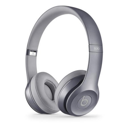 Beats Solo2 On-Ear Headphones Royal Collection - Stone Gray