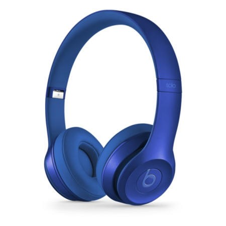 Beats Solo2 On-Ear Headphones Royal Collection - Sapphire Blue