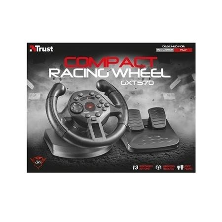 Trust 21684 GXT 570 Compact Vibration Racing Wheel