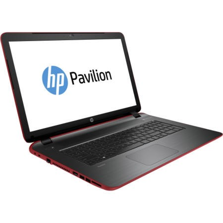 Refurbished Grade A1 HP Pavilion 17-f209na Core i5 8GB 1TB 17.3 inch Windows 8.1 Laptop in Red & Grey