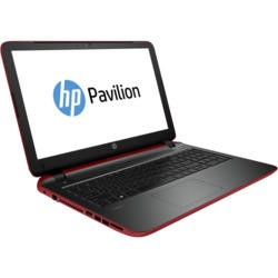 GRADE A1 - As new but box opened - HP Pavilion 15-p142na Quad Core AMD A8-6410 8GB 1TB DVDSM AMD Radeon R7 M260 2GB 15.6 inch Windows 8.1 Laptop in Red & Black