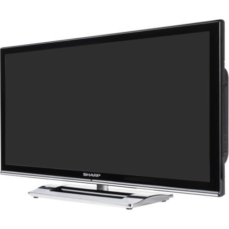 Ex Display - As new but box opened - Sharp LC24DV250K 24 Inch Freeview LED TV with built-in DVD Player