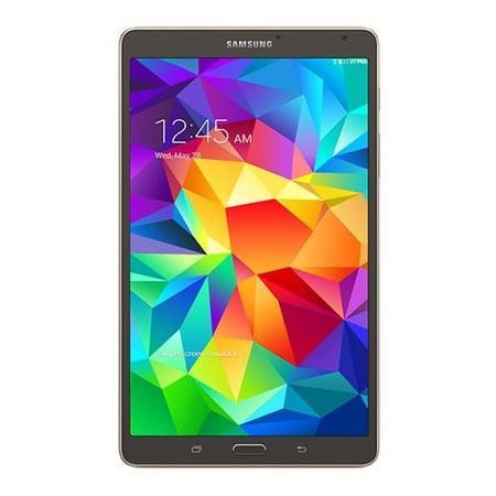 "Refurbished Grade A1 As new but box opened - Samsung Galaxy Tab S 8 Core 3GB 16GB 8.4"" Android 4.4 Kit Kat 4G Tablet Bronze"