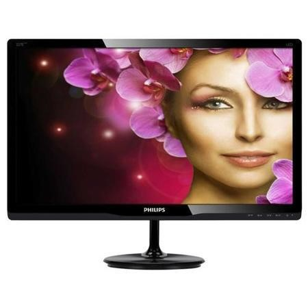 "Philips 227E4LHAB/00 21.5"" LED 1920x1080 VGA DVI HDMI Black Monitor"