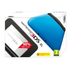 Nintendo 3DS XL Handheld Console - Blue and Black