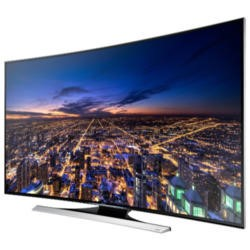 Ex Display - As new but box opened - Samsung UE55HU8200 55 Inch 4K Ultra HD 3D Curved LED TV