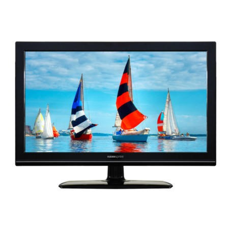 GRADE A2 - Minor Cosmetic Damage - Hannspree SL22DMAB 22 Inch Freeview LED TV