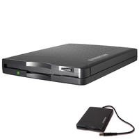 Freecom USB Floppy Disk Drive - Black