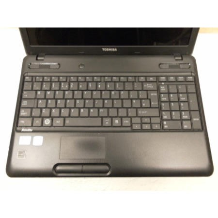 Preowned T1 Toshiba Satellite C660-217 PSC0LE-03Y00JEN Laptop in Black