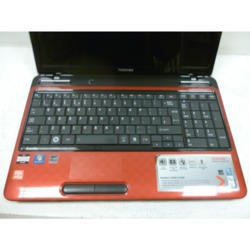 Preowned T1 toshiba Satellite L750D-1GC PSK4YE-02T00HEN Laptop in Red with Black Trim
