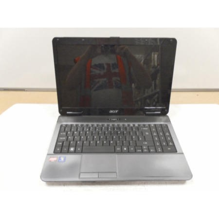 Preowned T1 Acer Aspire 5532 LX.PGX02.00 Laptop in Black & Grey