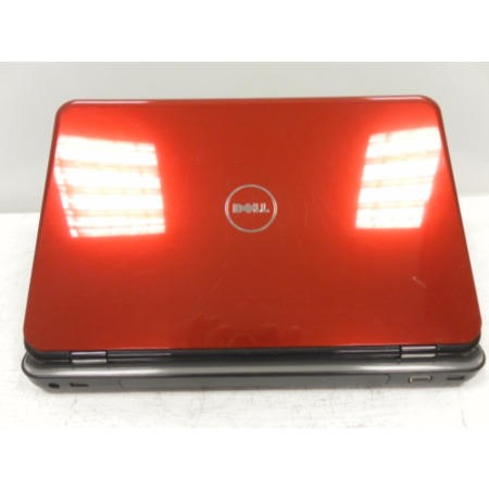 Preowned T2 Dell N510 5010-7509 Windows 7 Laptop in  Black Red & Silver
