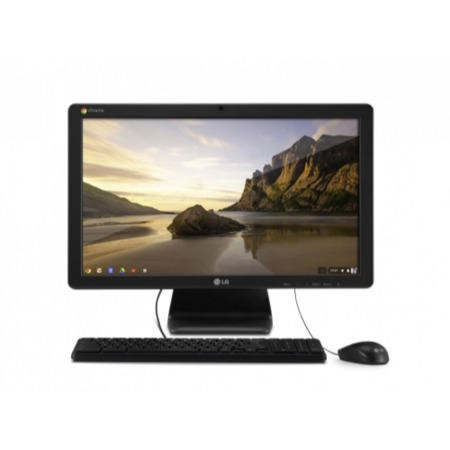 A1 Refurbished LG Chromebase 22CV241-B 2GB 16GB SSD 21.5 inch Full HD IPS Google Chrome All In One Monitor PC in Black