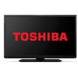 Toshiba 22L1333B 22 Inch Freeview LED TV