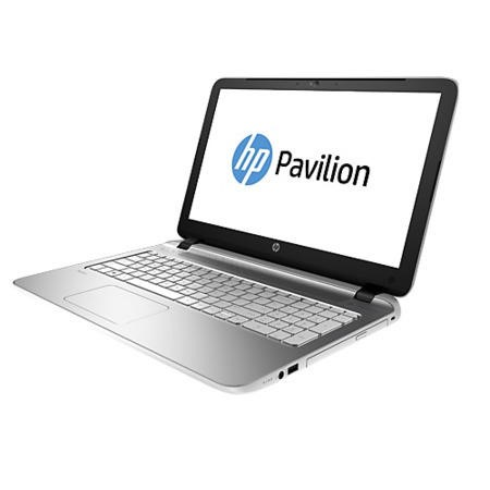 Refurbished Grade A1 HP Pavilion 15-p178na HP Hexa-Core QC 2.4GHz 8GB1TB DVDSM AMD Radeon R7 M260 2GB 15.6 inch Windows 8.1 Laptop in White & Silver