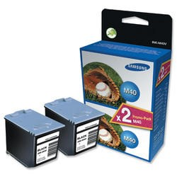 Samsung INK M40V  2 Black Ink Cartridges