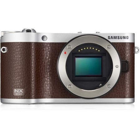 Ex Display - As new but box opened - Samsung NX300 20.3 MP Smart Digital Camera - Brown