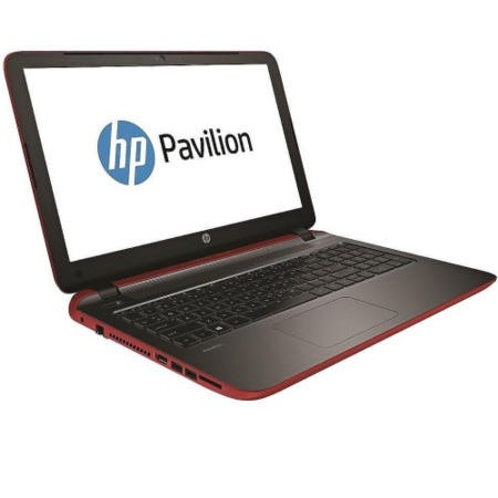 Refurbished Grade A1 HP Pavilion 15-p022na Core i3 4GB 1TB 15.6 inch Windows 8.1 Laptop in Red & Grey