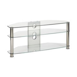 Ex Display - As new but box opened - MMT CL1150 Glass TV Stand - Up to 55 Inch