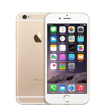 a1 Apple iPhone 6 Sim Free 64GB - Gold - As New Box Opened
