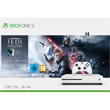 Xbox One S 1TB with Star Wars Jedi Fallen Order Deluxe Edition