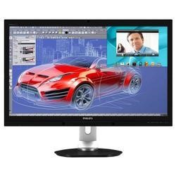 "Philips Brilliance 272P4QPJKEB - 27"" Plane to Line Switching PLS LED-backlit LCD monitor w/ USB Hub 2.0 megapixel camera"