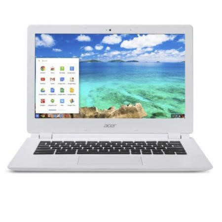 GRADE A1 - As new but box opened - Acer Chromebook CB5-311 4GB 32GB SSD 13.3 inch Full HD Chromebook Laptop in White