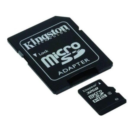 Kingston 32GB MicroSDHC Class 4 Card