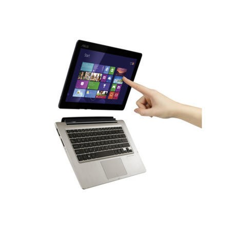 Refurbished Grade A1 Asus TX300CA Core i7 4GB 500GB128GB SSD Windows 8 Laptop with Removable Full HD IPS Tablet