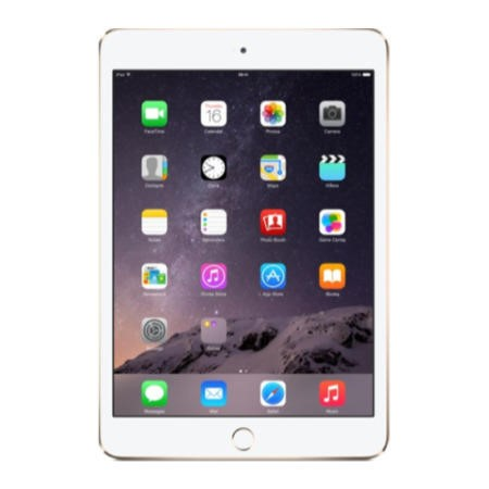 Apple iPad Mini 3 16GB 7.9 inch Retina Tablet - Gold