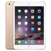 Apple iPad Mini 3 WI-FI + Cellular 128GB Tablet - Gold