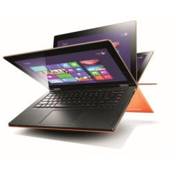 Refurbished Grade A1 Lenovo IdeaPad Yoga 11inch Convertible Windows 8 RT Laptop in Orange
