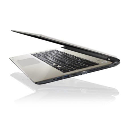 Refurbished Grade A1 Toshiba Satellite L50-B-158 Core i7 8GB 1TB Windows 8.1 Laptop in Gold & Black