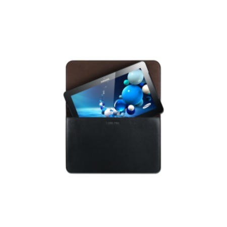 "Samsung Slim Pouch 11.6"" Synthetic Leather Case for Samsung Smart PC and Smart PC Pro - Black"