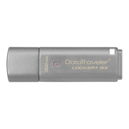Kingston 32GB USB 3.0 DT Locker G3 w/Automatic Data Security