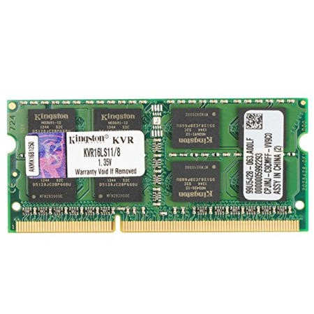 GRADE A1 - Kingston 8GB DDR3L 1600MHz Non-ECC SO-DIMM Memory